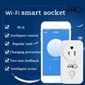 Hot Wifi Tomada Inteligente Sem Fio Plugue Interruptor Do Temporizador Tomada De Parede Do Telefone Sem Fio Controle Remoto Aplicativo Home Appliance Automação