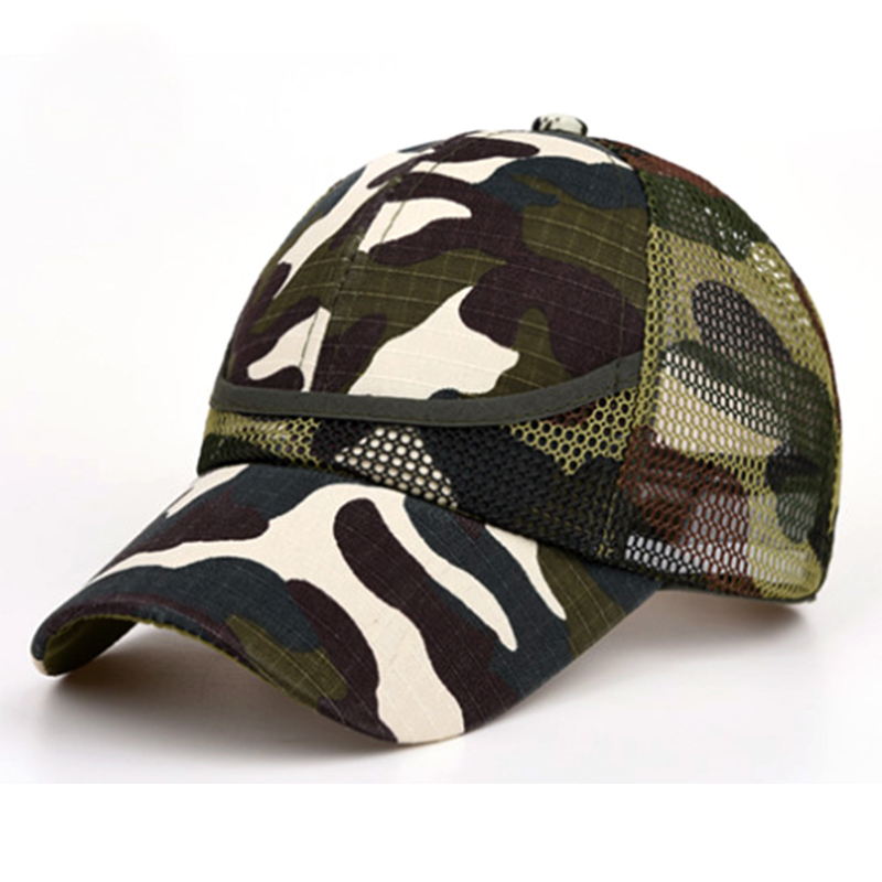 Children Camouflage Mesh Kids   Cap   Spring Summer   Baseball     Cap   For Boy Girl   Caps   kids snapback Baby Casual   Caps   Summer Style Bone
