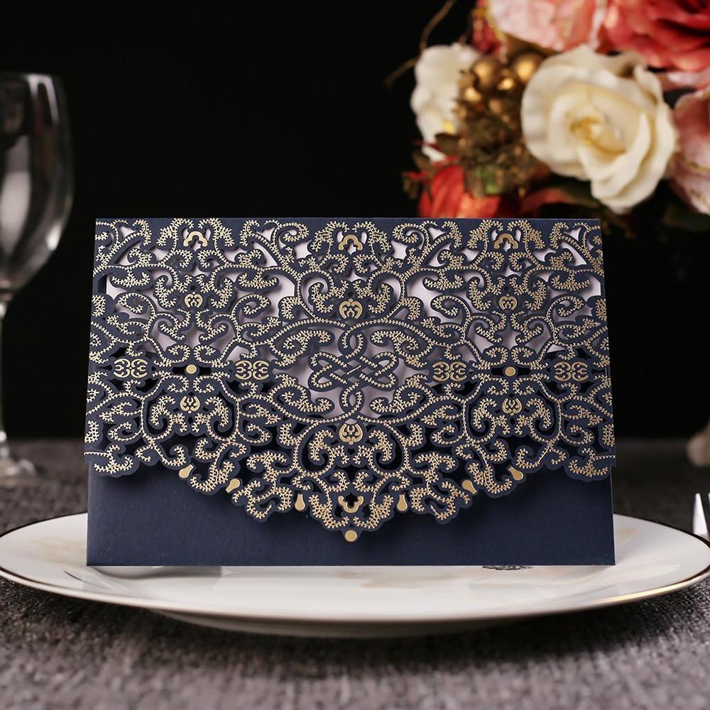 Floral Wedding Card Manufacturer From Hosur: Aliexpress.com : Buy 1 Piece Sample Wedding Invitations