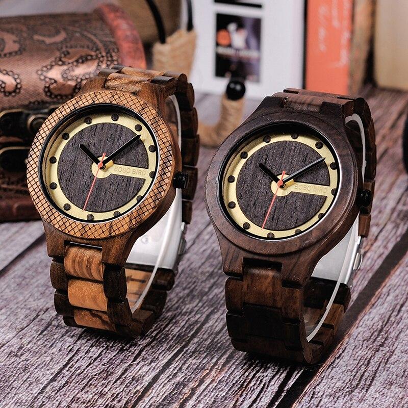49b46c60f8f BOBO PÁSSARO V-Q09 Moda Relógios Homens de Negócios de Quartzo ...
