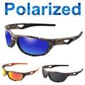 1e285b5bbc 2019 Camo polarizado gafas de sol de las mujeres de los hombres de deportes polarizado  gafas