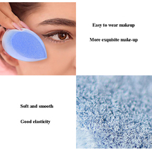 1/2/3 pcs New Arrivals Flocking Makeup Foundation Sponge Blender Puff Powder Smooth Cosmetic Beauty Girl Lady Gift