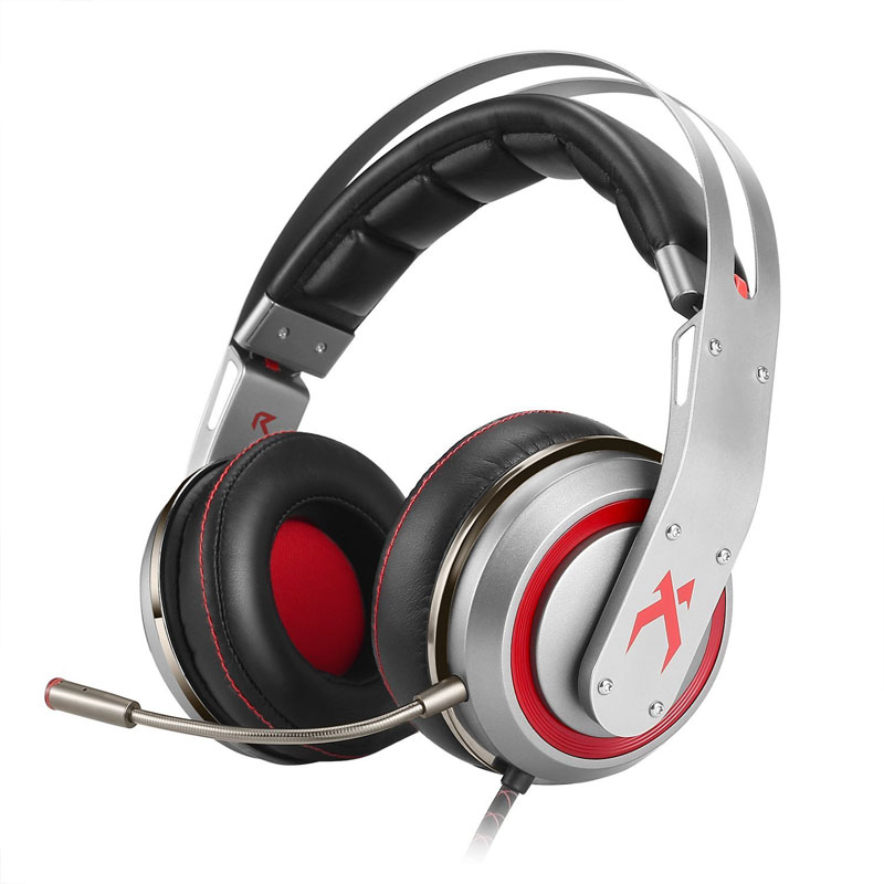 USB PS4 Gaming Headset Noise Isolation Wired Over Ear Stereo Gamer Headphones with Microphone Volume Control and LED Light ovleng q8 usb wired stereo headphones w microphone white red black