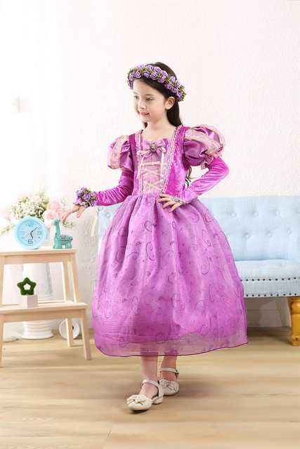 f360696c7a0549 fantasia vestidos rapunzel child halloween costume patterns tangled  rapunzel costume princess rapunzel costume kids girls girl-in Girls Costumes  from ...