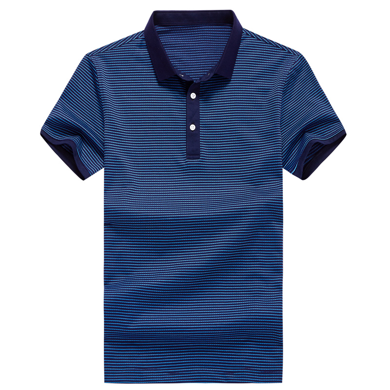 Men short sleeve Poloshirts shirt 2019 Summer New Casual Men Tops purple blue green Male clothing 5215-in Polo from Men's Clothing    1