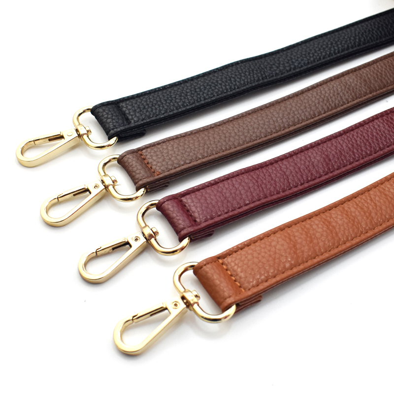 130*2.5CM Adjustable Long Women Men Lady PU Leather Bag Strap Belt Replacement Shoulder CrossBody Bag Band Accessories KZ0349