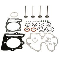 Cylinder Head Gasket Valve Rebuild Kit For Honda Sportrax TRX400EX 1999 2008
