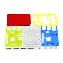 Waveshare Rainbow Case/ Cover/ Box A for RPi Used with Raspberry Pi 2/3 Model B 5 Colors Transparent High Quality Easy use
