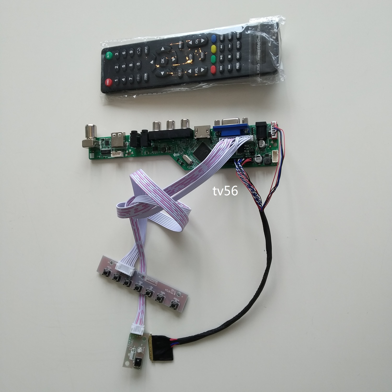 TV LED  VGA HDMI AV AUDIO Controller Board For LTN156AT05-W01 15.6