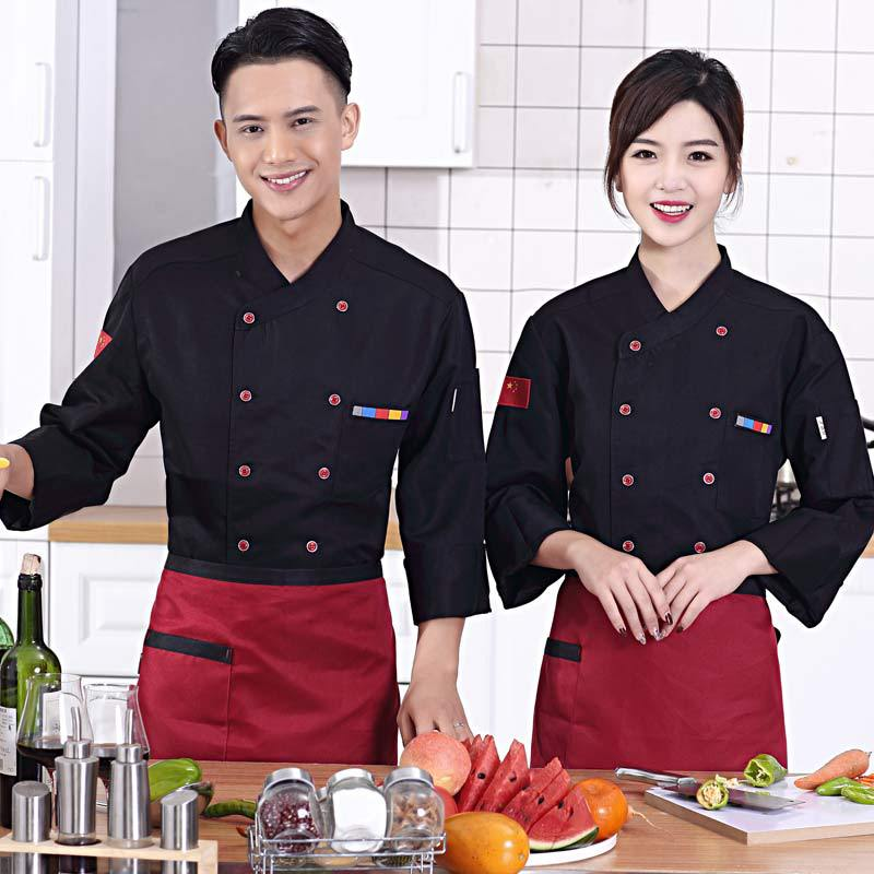 2018 New Style Hotel Workwear Winter Kitchen Staff Clothes