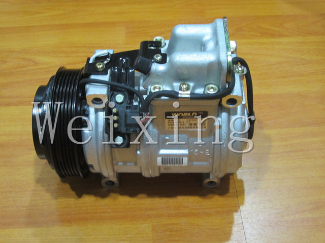 12V AC compressor 10PA17C for M.BENZ W124 R129 A0002340211 447100-2070 0002300611 147100-3970 1191300015