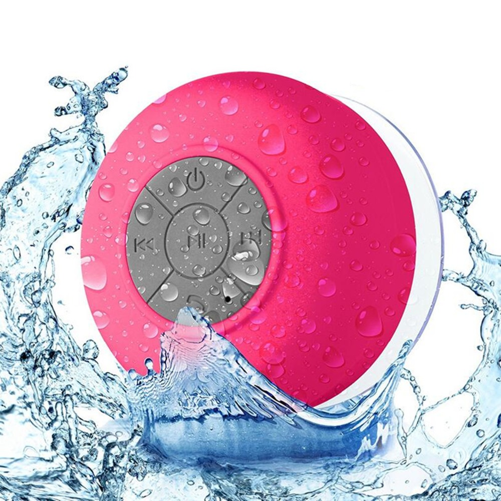 Bluetooth Speaker Mini Portable Wireless Waterproof Shower Speakers for Phone MP3 Bluetooth Receiver Hand Free Car Speaker