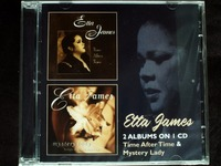 Etta James - Time After Time/Mystery Lady 2CD New Sealed Soul-Jazz