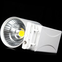 Free shipping COB 30w warm white/Pure/White/cool white High Quality led tracking light led wall dong light AC85~265V CE&ROHS