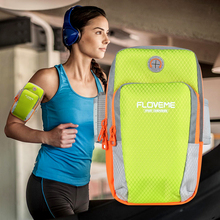 ФОТО soft breathable universal cell phone armband holder for running sports armband case for iphone 5 5s se 6 7 8 plus x 10 phone bag