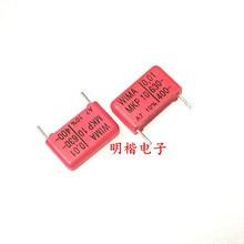 WIMA 2019 hot sale 10pcs/20pcs German capacitor MKP10 630V 0.01UF 103 630V 10nf P: 15mm spot Audio capacitor free shipping 50pcs cbb capacitor 630v 474 470nf 0 47uf pitch 20mm