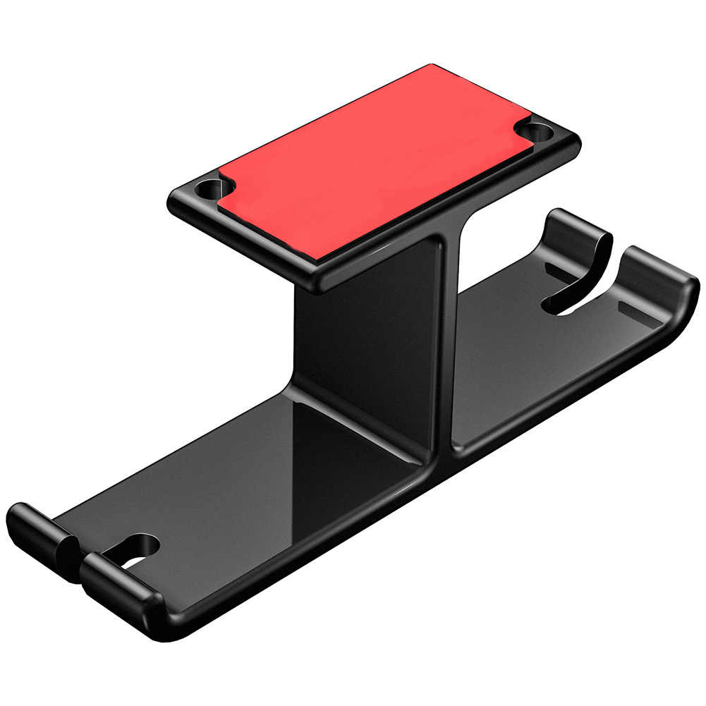 Portable -mounted Double Hook Design Stand Multifunction set Hanger Storage Stable Durable phone Holder Office Desk