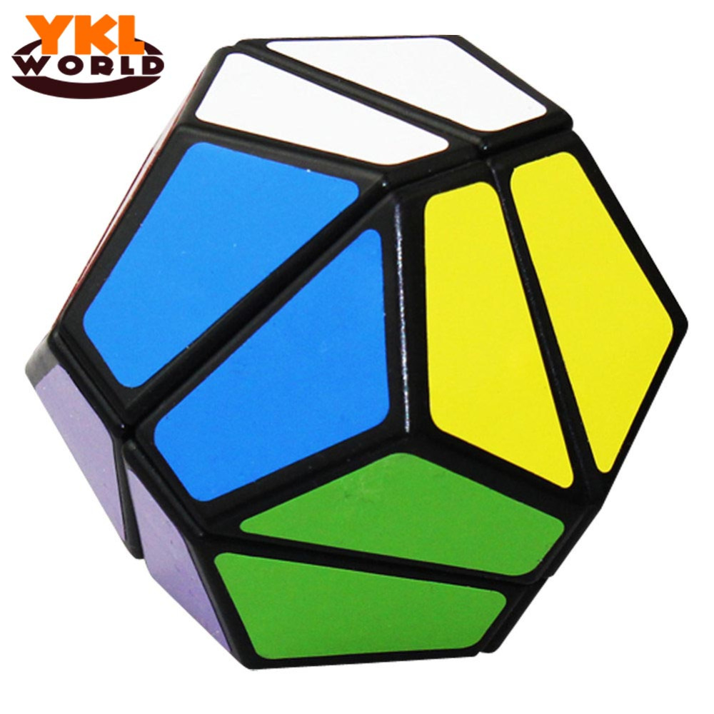 YKLWorld 2x2 Dodecahedron Magic Cube 2x2 Magic Cubes Speed Cubo Educational & Learning Toys For Children (C5