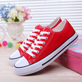 With BOX!hot sell unisex high low style casual Canvas Shoes Lace up fashion shoes for women shoes Youth shoes