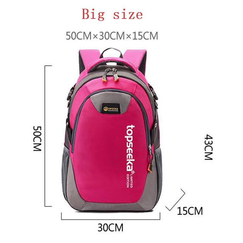 duplo-ombro mochila para mulheres Interior : Bolso Interior do Entalhe