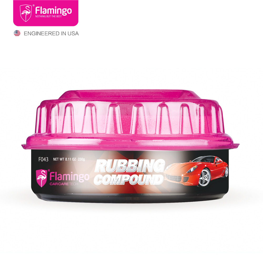 Pasta-Wax Wax-Rubbing Car-Polish Compound-Color Scrapes-Removal Scratche-Chips Back 230g