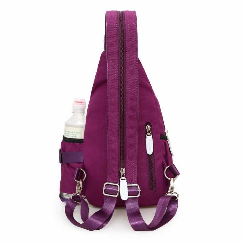 Новая женская нейлоновая сумка на плечо для ежедневной путешествий маленькие рюкзаки сумка женская Повседневная сумка на грудь сумки женский рюкзак Mochilas