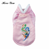 Heve You Clothes For Small Dogs Warm Pet Clothes Puppy Cat Clothing Dog Costume Tang Suit