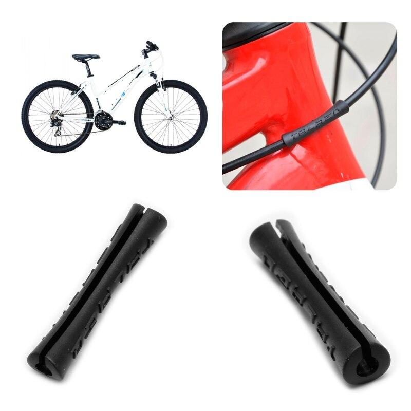 New MTB Bicycle Bike V-Brake Hollow Bracket Cartridge Pads Shoes Gold 1 Pair