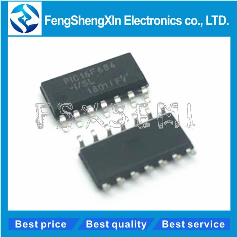 100pcs lot PIC16F684 I SL PIC16F684 8 bit microcontroller IC SOP 14