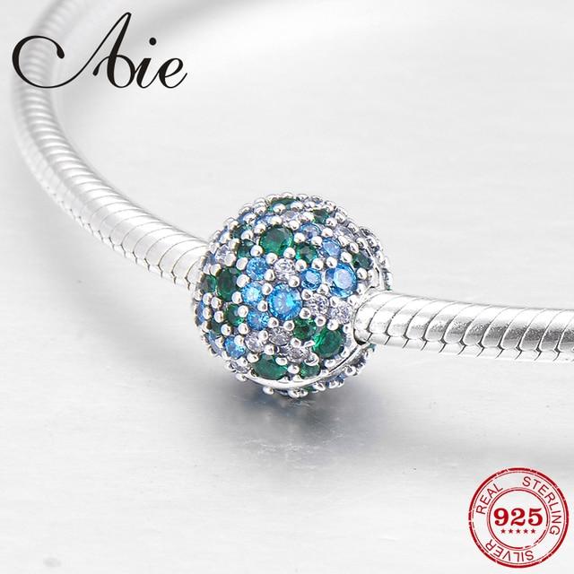 e39e68526 ... shopping luxury dazzling 925 sterling silver cyan light blue cz clips  lock beads fit original pandora