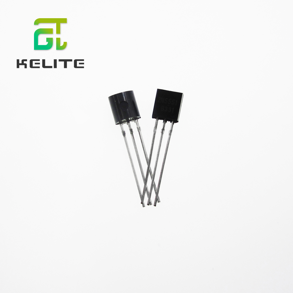 Triode transistor TO-92 0.3A 160V PNP 2N5551  DIP New 100PCS
