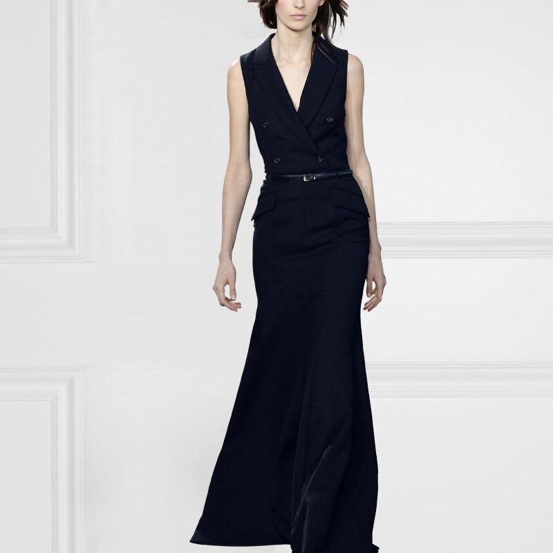 Grande taille vente directe véritable Empire ceintures régulière solide décontracté robe d'été haut de gamme mode Dresseslong body femmes