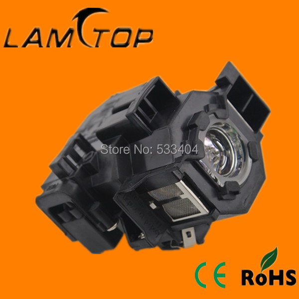 Free shipping  LAMTOP projector  lamp  with housing/cage  for  EB-X6/EB-W6 aliexpress hot sell elplp76 v13h010l76 projector lamp with housing eb g6350 eb g6450wu eb g6550wu eb g6650wu eb g6750 etc