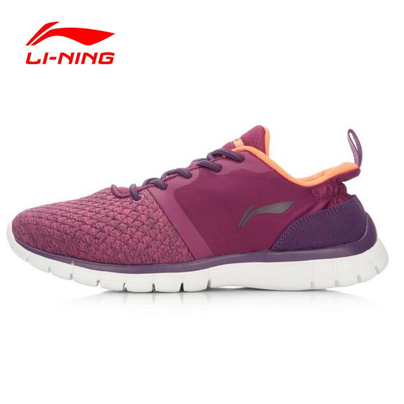 Prix pour Li-Ning Femmes Sneakers Chaussures de Formation de Lumière Douce Danse Chaussures Souples Yoga Fittness Doublure Sport Chaussures AFHL024 YXX013
