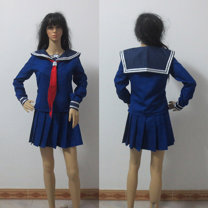 Fate Zero SAber cosplay costume Student Sailor Suit Custom Made Any Size