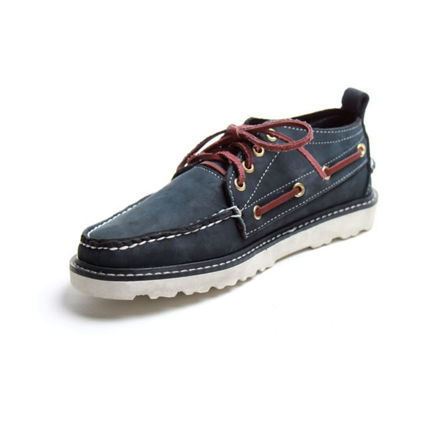 2017 Handmade Vintage Retro Mens Genuine leather Breathable Boat shoe Brown USA Comforable Lace up Two-hole Work shoe new arrival for apple macbook air a1370