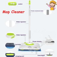 Large BatteryAutomatic Mop Household Intelligent Cleaner Electric Robot Cleaner Swivel Cordless Sweeper SWDK D2