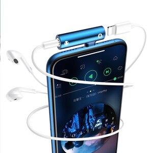 Image 5 - Usams 휴대 전화 어댑터 조명 3.5mm 3 1 빠른 충전 오디오 어댑터 otg 오디오 및 충전 어댑터 아이폰 7 8 x