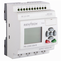RIEVTECH,Micro Automation sulutions provider. industrial programmable relay PR 12DC DA R