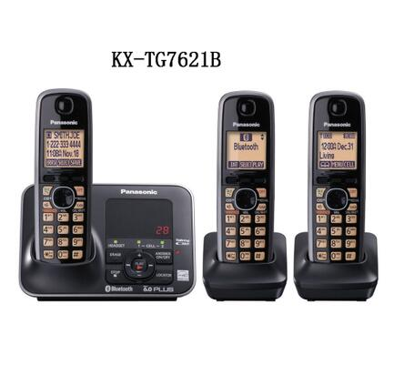 kx tg7621b dect 6 0 link to cell via bluetooth cordless phone black rh aliexpress com Best Panasonic DECT 6.0 Phone Panasonic DECT 6.0 User Manual