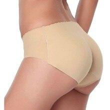 a04cdef317 Women silicone Butt Lifter Lingerie Underwear Padded Seamless Butt Hip Enhancer  Shaper Panties push up buttocks