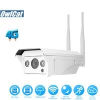 OwlCat HD 1080P Waterproof GSM 3G 4G SIM Card Bullet IP Camera WIFI Outdoor IR 2.0MP SD Slot P2P AP Motion Security CCTV Camera