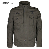 Jacket Men Military Army Jackets Jaqueta Masculina Plus Size 6XL Windbreaker Coat Mens Bomber Jacket For