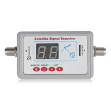 ค้นหาสัญญาณดาวเทียมดิจิตอลจอแอลซีดีจอแสดงผล DVB T SF 95DL เสาอากาศทีวีดาวเทียมเครื่องค้นหาเมตรสัญญาณทีวี Searcher เครื่องมือ