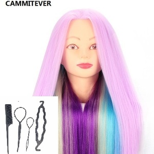 CAMMITEVER Violet Colorful Hai