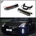 OEM Substituição Exact Fit CREE Alta Potência LEVOU Choques Refletor LED de Luzes Diurnas Para 2006-2009 Nissan 350Z LCI