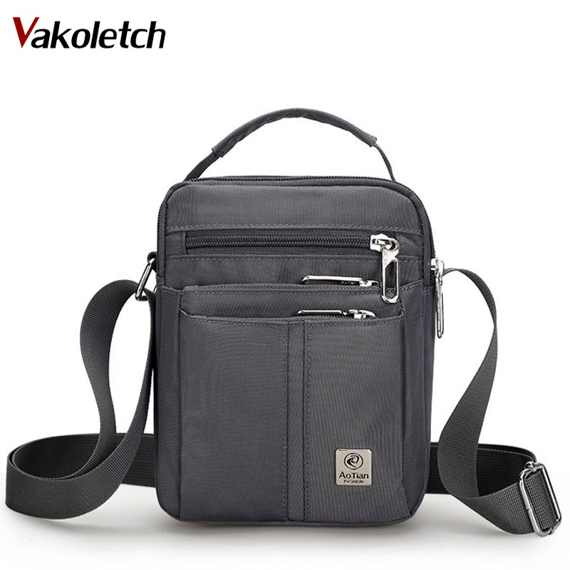 Waterproof Shoulder Tote Weekend Travel Men Bag Homme Bolsa Feminina Handbag 2019 High Quality Nylon Messenger Bags KL569