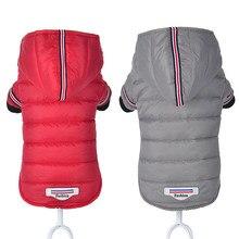 Vêtements d'hiver pour petits chiens, pour Chihuahua, veste et manteau pour animaux de compagnie, imperméable, pour petits et moyens chiens, rouge