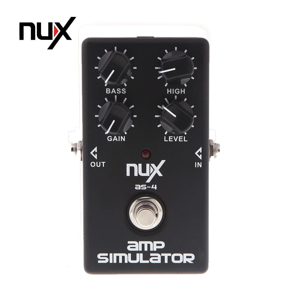 nux as 4 mini guitar distortion effect pedal guitar amplifier simulator booster guitar. Black Bedroom Furniture Sets. Home Design Ideas