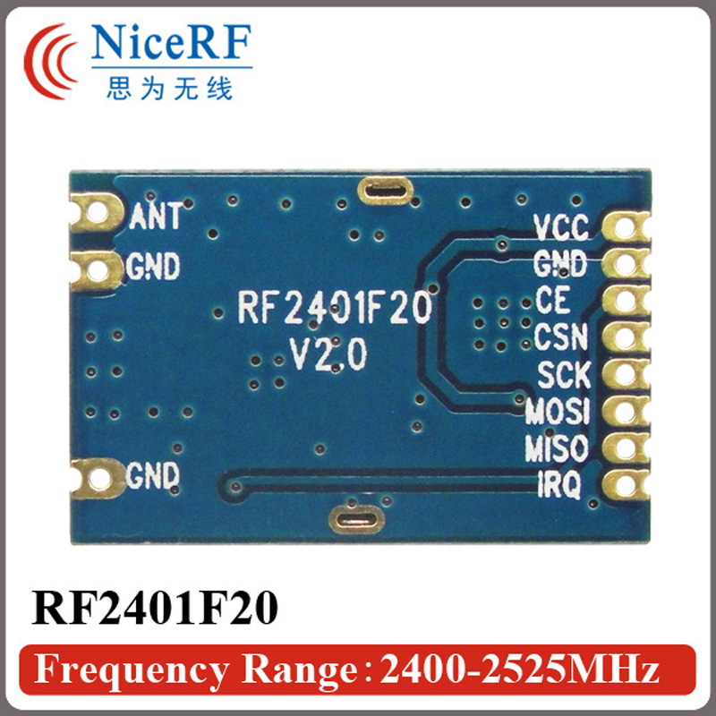 10pcs RF2401F20 2.4G υψηλής ενσωματωμένης - Εξοπλισμός επικοινωνίας - Φωτογραφία 4